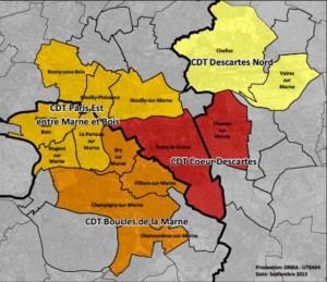 Situation du CDT Boucles de la Marne credit DRIEA