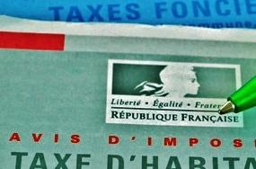 Part des impôts locaux et taxes dans les recettes de fonctionnement par ville du Val de Marne