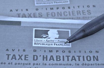 Part des communautés d'agglomération du Val de Marne dans la taxe d'habitation