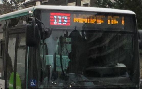 Plus de bus 113 entre Nogent et Chelles