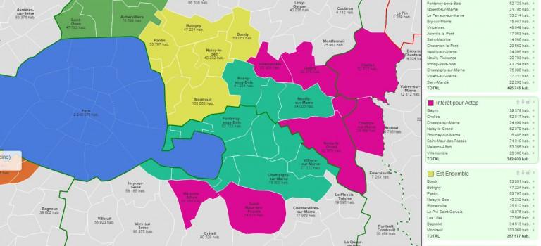 Est Parisien : jusqu'où étendre le territoire de l'Actep?