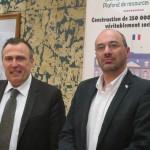 Eddie Jacquemart et Alain Gaulon CNL