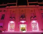 Illumination hotel de ville Saint Mande Octobre Rose