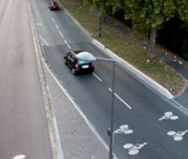 Création d'une piste cyclable le long du parc interdépartemental