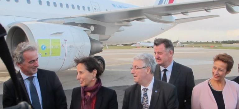 Le premier vol Toulouse-Orly propulsé au sucre
