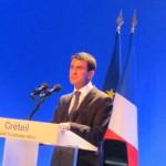 Valls Creteil 13 octobre 2014