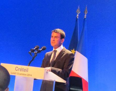Manuel Valls concrétise le Grand Paris à Créteil