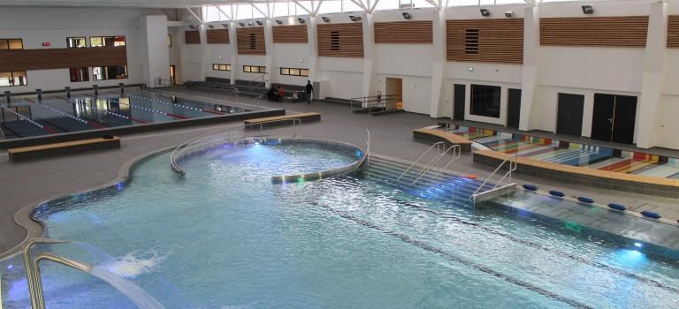 La nouvelle piscine de Fontenay en images