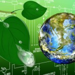 Ecology planet Earth.Concept