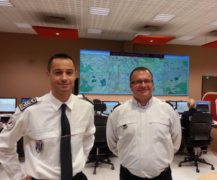 Commissaire Antoine Salmon et Major Johanneau