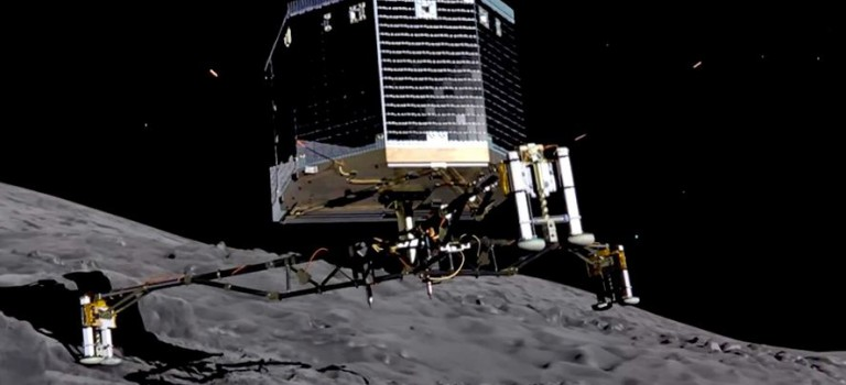 L'atterrissage de Philae sur la comète retransmis en direct à l'Exploradôme