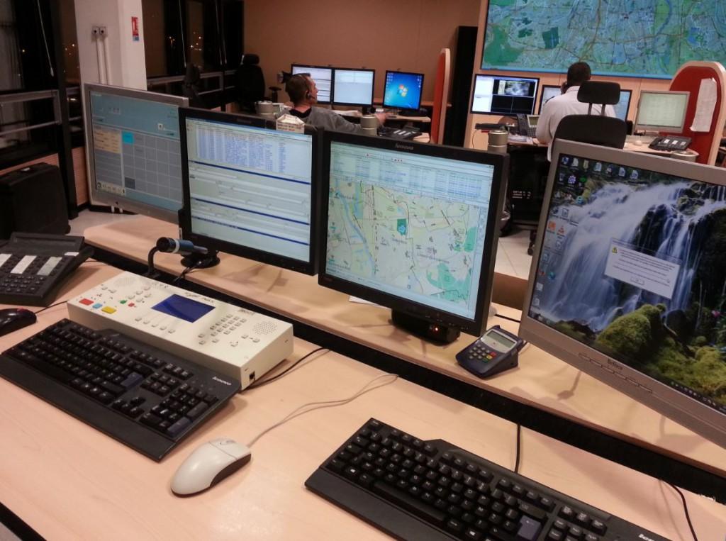 Salle Information et Commandement du Val de Marne 2