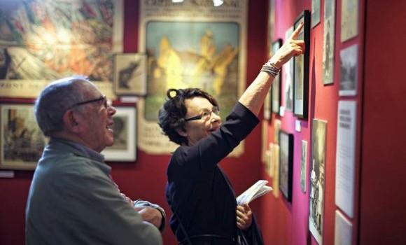 Lectures et visites guidées de l'exposition 14-18