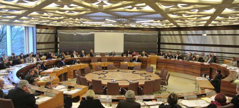 Ambiance très électorale pour le débat d'orientation budgétaire du Val de Marne