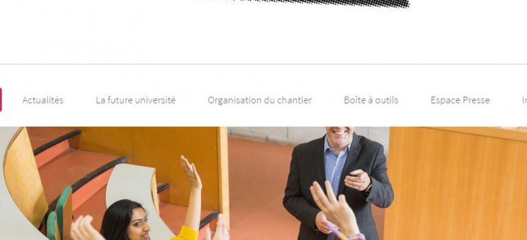 Un site Internet pour accompagner la fusion des universités Paris Est