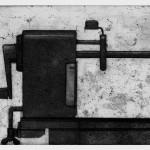 Taille-crayon, 2000, eau-forte, aquatinte et pointe sèche sur cuivre