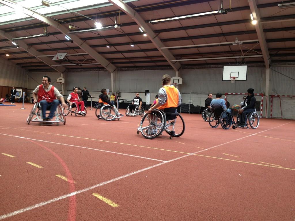 USCBonneuil sensibilisation au handicap par le SPORT - Dec 2014