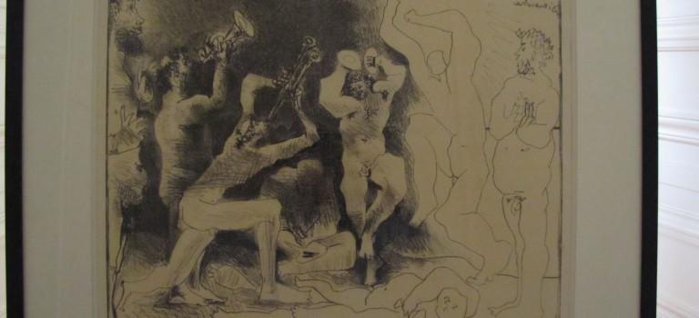 Midi au musée sur Picasso à la Villa Médicis