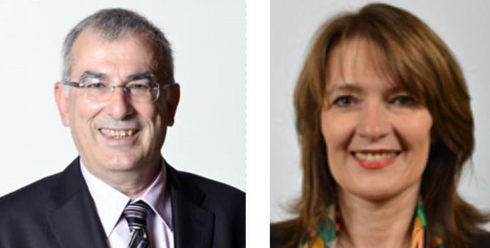 Départementales : D.Breuiller (EELV) et H.de Comarmond (PS) ensemble à Arcueil-Cachan