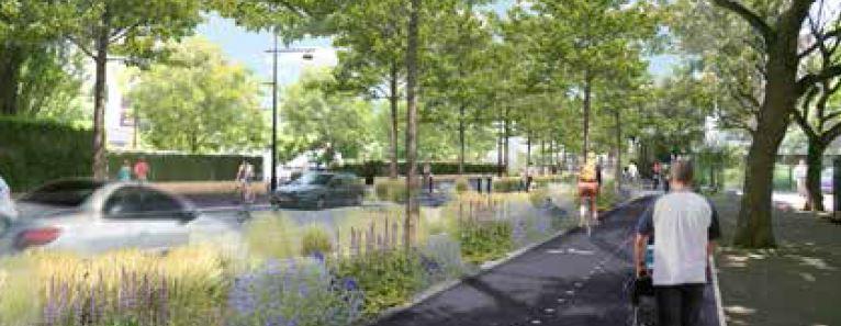 Lancement des travaux de requalification de la RD 127 à L'Haÿ et Cachan