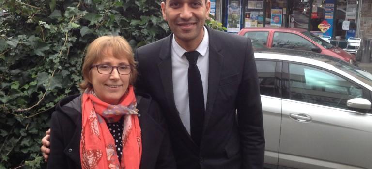 Brigitte Tironneau et Stéphane Coloneaux appellent à voter PS à L'Haÿ-Fresnes