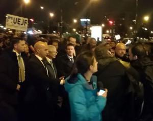 Rassemblement Saint Mandé Valls