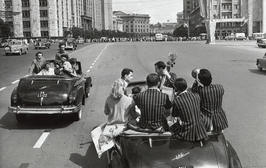 Le dégel de l'après Staline en photos au Kremlin
