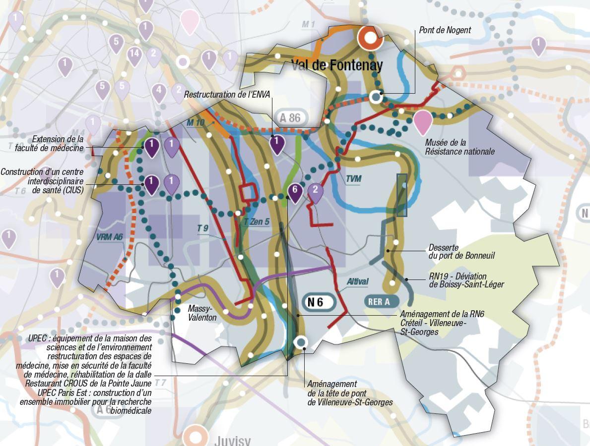 CPER IDF 2015 2020 Val de Marne