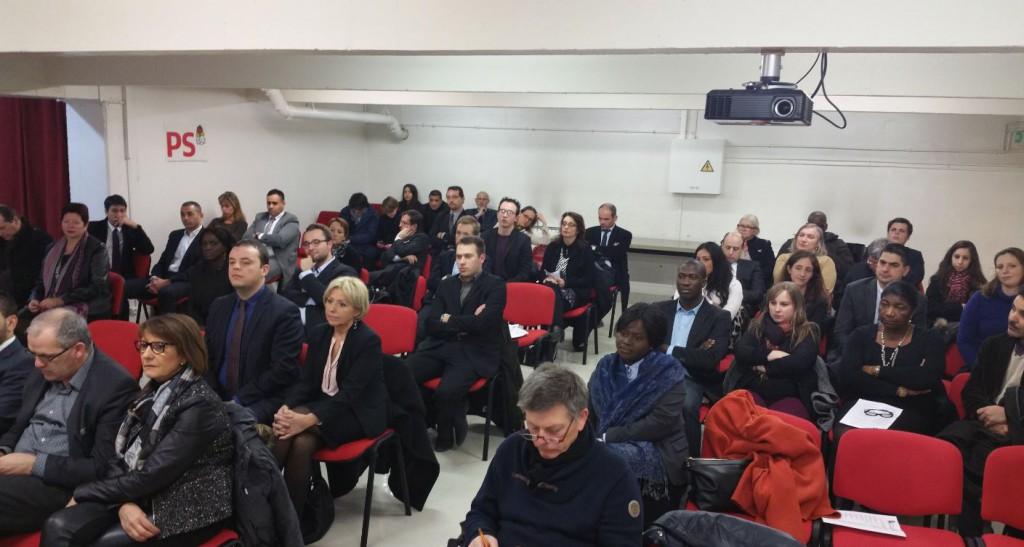 Conference Presse PS Departementales 2015