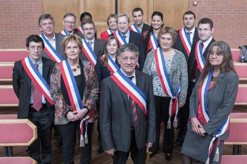 Equipe adjoints Vitry sur Seine credit mairie de Vitry