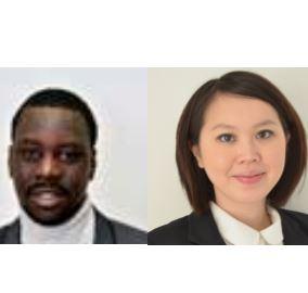 Moustapha Thiam et Elise Lyfoung candidats Nous citoyens à Choisy-le-Roi