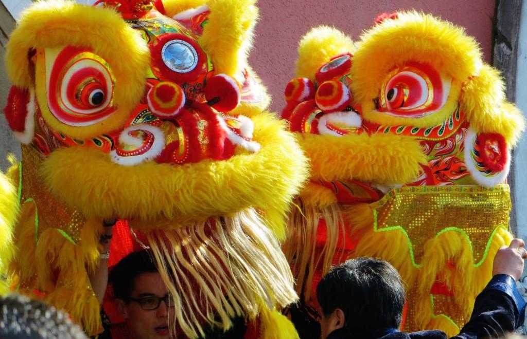 Nouvel An Chinois 4 Danse du Lion Alfortville 19  Fevrier 2015
