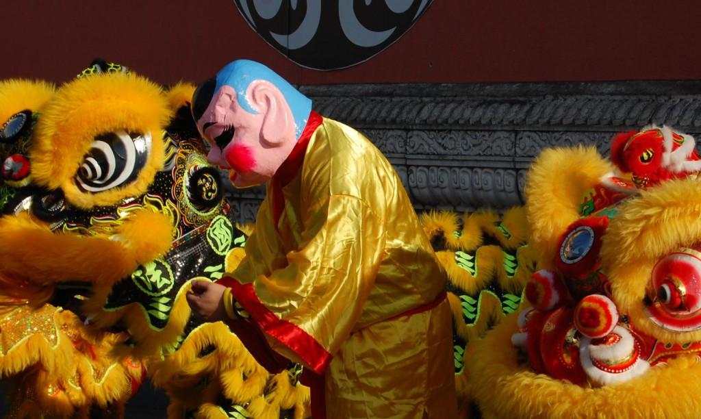Nouvel An Chinois 5 Danse du Lion Alfortville 19  Fevrier 2015