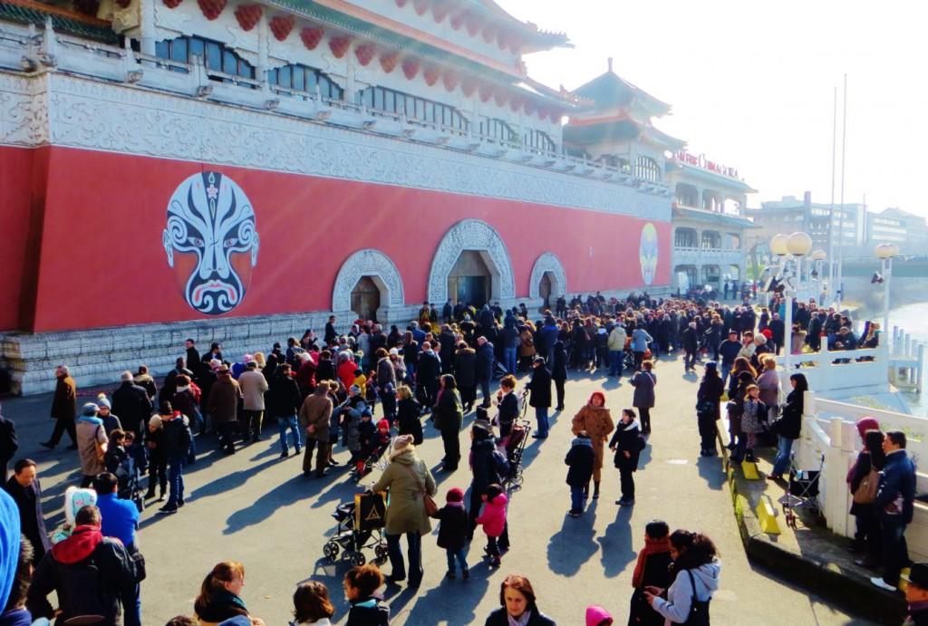 Nouvel An Chinois 7 Danse du Lion Alfortville 19  Fevrier 2015