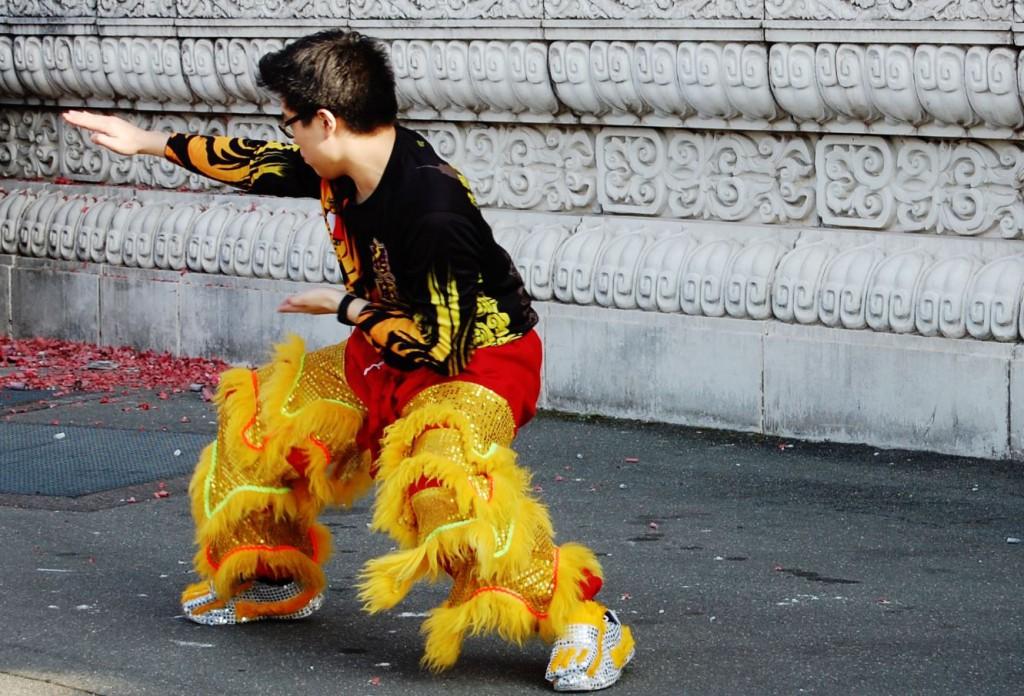 Nouvel An Chinois Danse du Lion Alfortville 19  Fevrier 2015