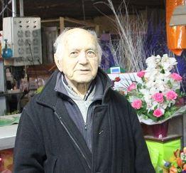 Philippe Dreyfus, 90 ans et toujours horticulteur à Mandres-les-Roses