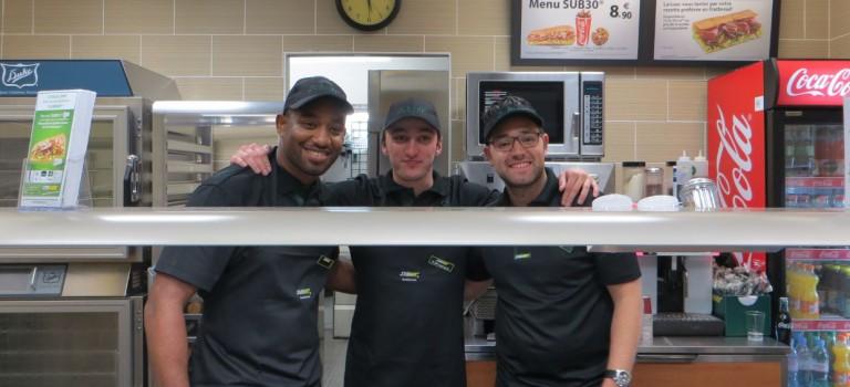 Le restaurant Subway a ouvert à Nogent-sur-Marne