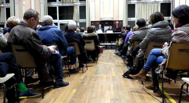 Retransmission du débat entre candidats à Nogent