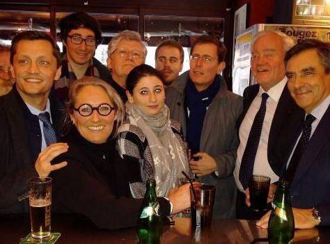 François Fillon est venu encourager l'UMP UDI dans le canton de Fontenay