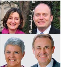 Jean-Frois Le Helloco et Laurence Coulon  gagnent Saint-Maur1 à 61% des voix