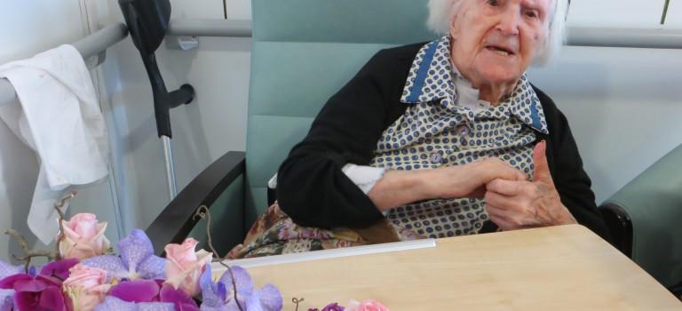 Marguerite Simon, doyenne du Val-de-marne, fête ses 108 ans