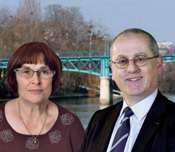 Départementales : réunion des candidats EELV Villiers-sur-Marne avec Denis Baupin