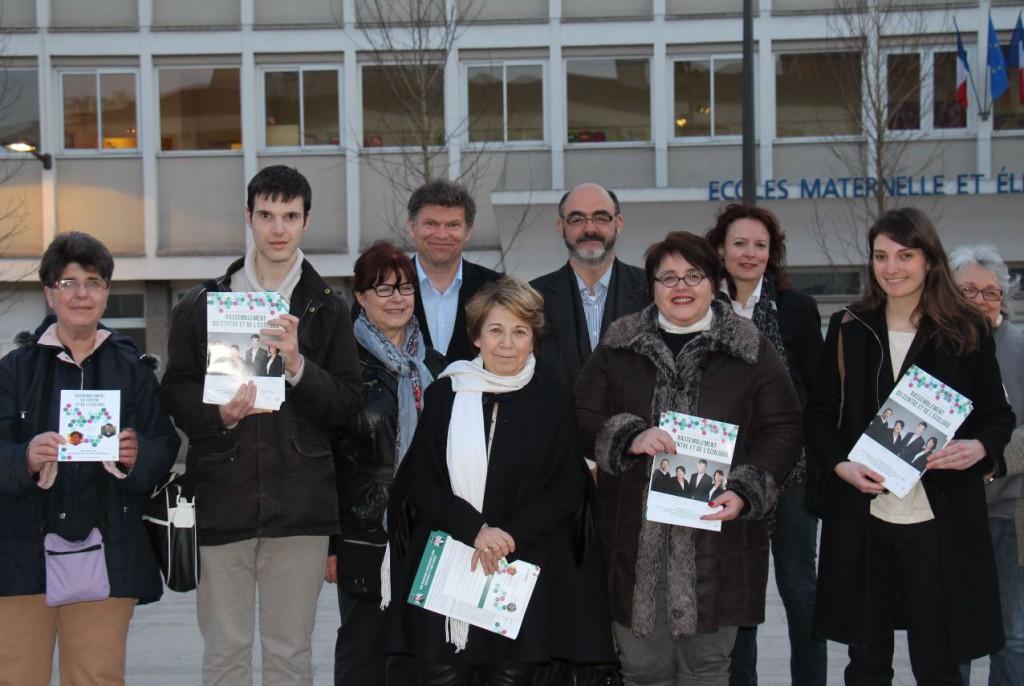 Corinne Lepage vient soutenir les listes citoyennes dans le Val de Marne
