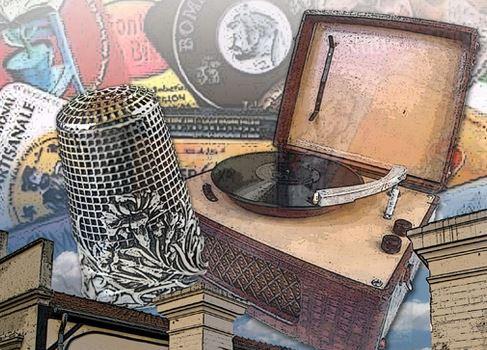 Exposition de collections d'objets anciens à Alfortville