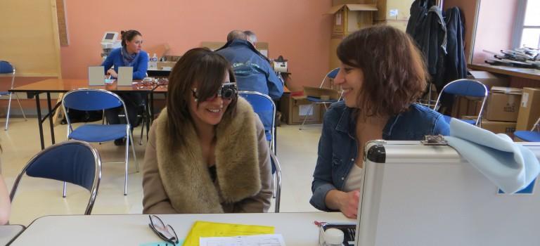 Essilor réitère son opération lunettes gratuites à l'hôpital Bicêtre