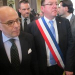 Bernard Cazeneuve et Franck Le Bohellec