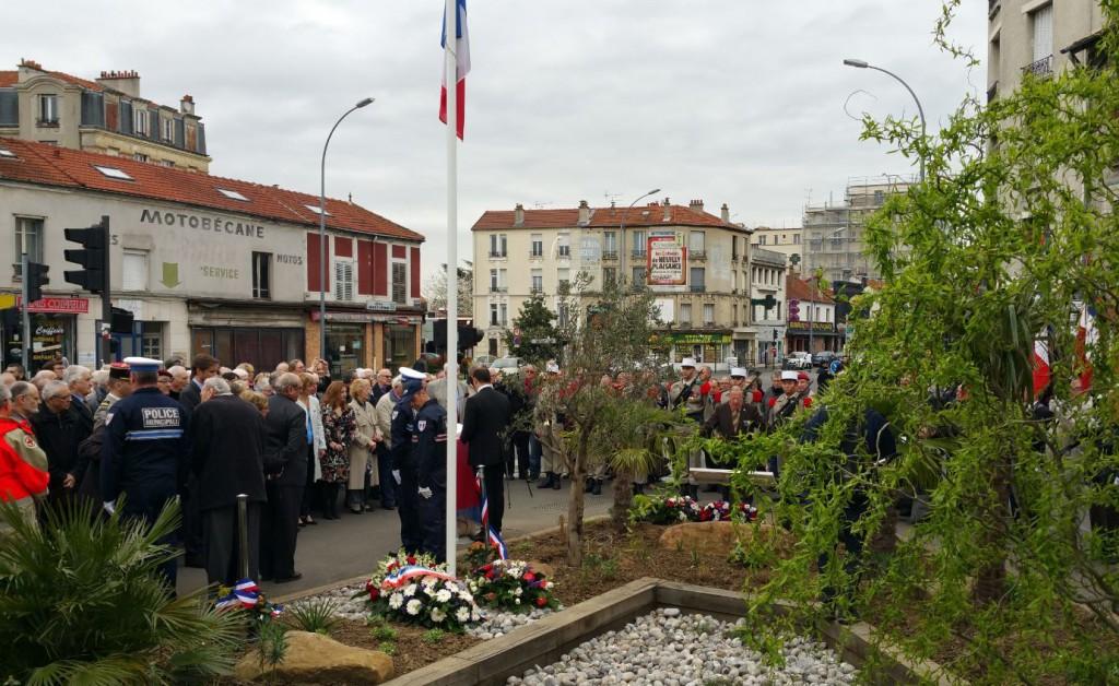 Commemoration Cessez Le Feu Algerie Le Perreux sur Marne 2