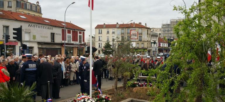 Commémoration de l'anniversaire du cessez le feu de la guerre d'Algérie en Val-de-Marne