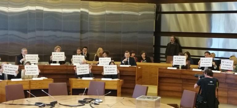 Conseil départemental du Val de Marne: c'était la première séance…