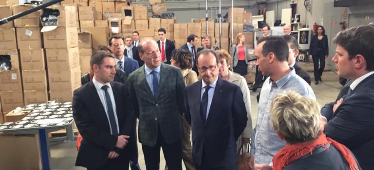 François Hollande vient adouber un fonds d'investissement social depuis L'Haÿ-les-Roses